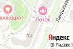 Схема проезда до компании Томат в Москве