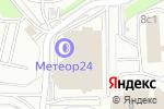 Схема проезда до компании МАДИ-тест авто в Москве