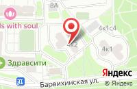 Схема проезда до компании Тосна в Москве