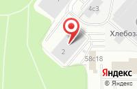 Схема проезда до компании Шеф-кейтеринг в Ярославле