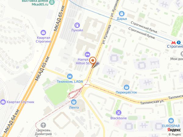 Остановка «Таллинская ул.», улица Кулакова (1432) (Москва)