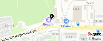 Агентство по автострахованию на карте Москвы
