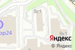 Схема проезда до компании Омни Системс в Москве