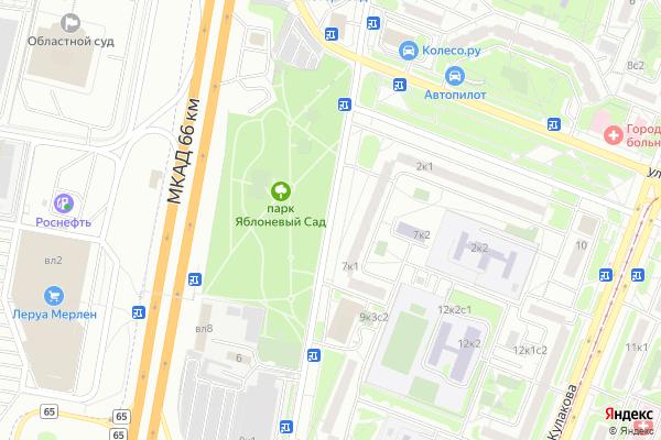 Ремонт телевизоров Неманский проезд на яндекс карте