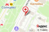 Схема проезда до компании Буш Кино в Москве