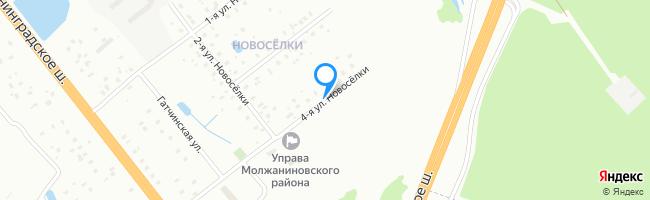 улица Новосёлки 4-я