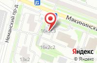 Схема проезда до компании Курскрегионстрой в Москве
