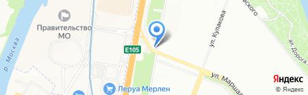 Мистер Мото на карте Москвы