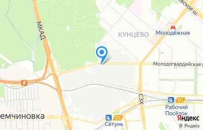 Местоположение на карте пункта техосмотра по адресу г Москва, ул Молодогвардейская, д 61 стр 4
