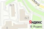 Схема проезда до компании PRINTEK.RU в Москве