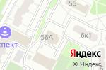 Схема проезда до компании Дорогая в Москве