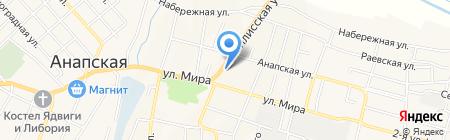 ЭкоЛайн на карте Анапы