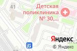 Схема проезда до компании Детальки в Москве