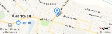 Ника на карте Анапы