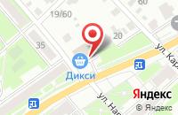 Схема проезда до компании Магнит Косметик в Серпухове
