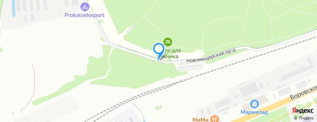 Новомещерский проезд