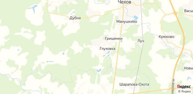 Сенино на карте