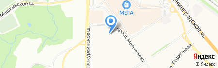 ГринЛайнСервис на карте Химок