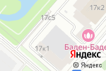 Схема проезда до компании ГаражСтрой в Москве