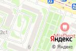 Схема проезда до компании МАКС-М в Москве