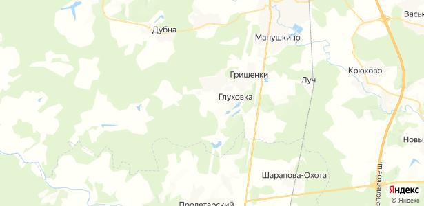 Нащекино на карте