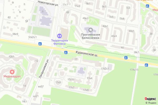 Ремонт телевизоров Куркинское шоссе на яндекс карте