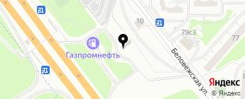 Интертрест-Ойл на карте Москвы