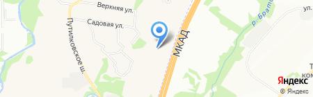 Обувной мир Лидер на карте Москвы