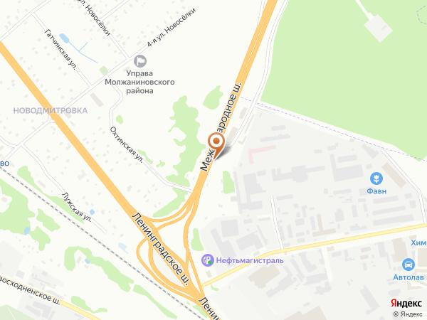 Остановка «Международное ш.», Международное шоссе (10199) (Москва)