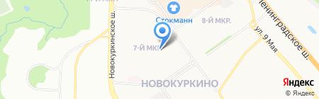Квартира на карте Химок