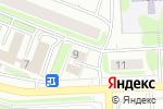 Схема проезда до компании Iservice center в Москве