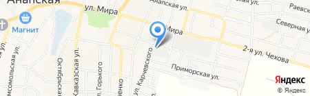 Мебельный цех на карте Анапы
