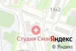 Схема проезда до компании Солнечный День в Москве