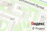 Схема проезда до компании Планета Будущего в Москве