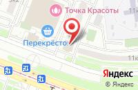 Схема проезда до компании СимплТрейд в Москве