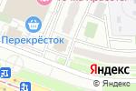 Схема проезда до компании Окна Rehau в Москве