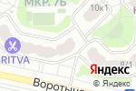 Схема проезда до компании Лингва 1298 в Москве