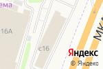 Схема проезда до компании БелМебель в Москве