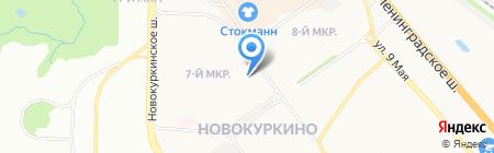 Ням-ням на карте Химок