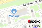Схема проезда до компании Брагинский и партнеры в Москве