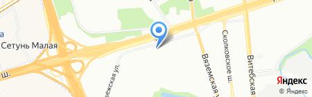 Брагинский и партнеры на карте Москвы