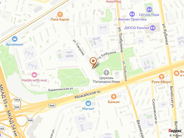 Остановка «Пр. Толбухина», улица Говорова (1008843) (Москва)
