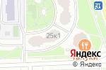 Схема проезда до компании Elos Club в Москве