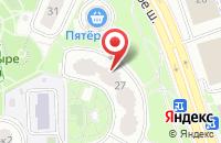 Схема проезда до компании Биндери в Москве
