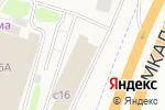 Схема проезда до компании Кухнемания в Москве