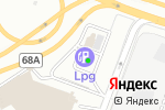 Схема проезда до компании АГЗС Промгаз в Москве