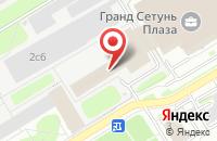 Схема проезда до компании Норд в Москве