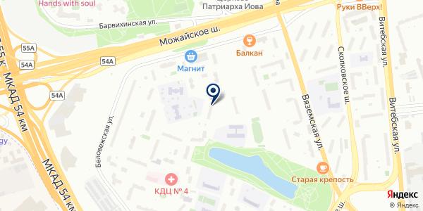 ЗдравСити на карте Москве