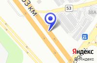 Схема проезда до компании АЗС ИНТЕРТРЕСТ-ОЙЛ в Москве