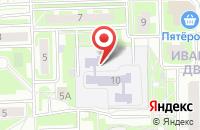 Схема проезда до компании Центр детства в Серпухове